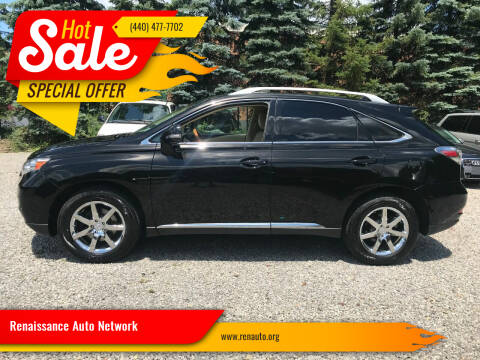 2011 Lexus RX 350 for sale at Renaissance Auto Network in Warrensville Heights OH