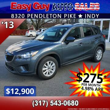 2013 Mazda CX-5 for sale at Easy Guy Auto Sales in Indianapolis IN