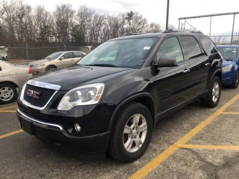 2012 GMC Acadia for sale at Plymouthe Motors in Leominster MA