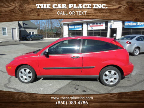 2002 Ford Focus for sale at THE CAR PLACE INC. in Somersville CT