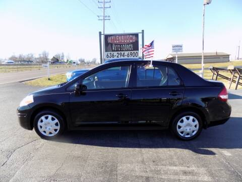 2011 Nissan Versa for sale at MYLENBUSCH AUTO SOURCE in O` Fallon MO