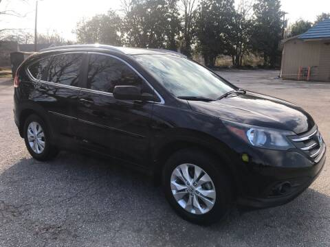 2013 Honda CR-V for sale at Cherry Motors in Greenville SC