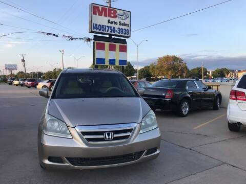 2007 Honda Odyssey for sale at MB Auto Sales in Oklahoma City OK