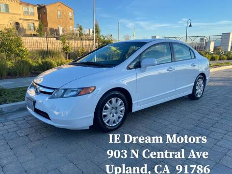2007 Honda Civic for sale at IE Dream Motors-Upland in Upland CA