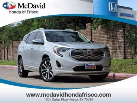 2018 GMC Terrain for sale at DAVID McDAVID HONDA OF IRVING in Irving TX