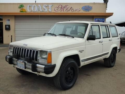 1987 Jeep Cherokee for sale at Coast Motors in Arroyo Grande CA
