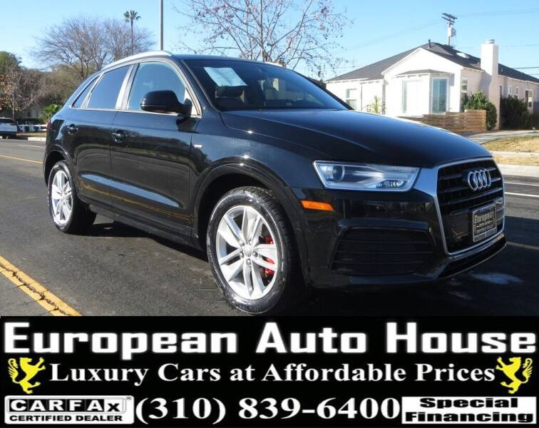 2018 Audi Q3 for sale at European Auto House in Los Angeles CA