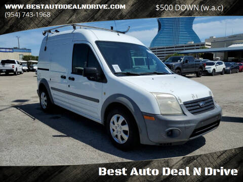 2012 Ford Transit Connect for sale at Best Auto Deal N Drive in Hollywood FL