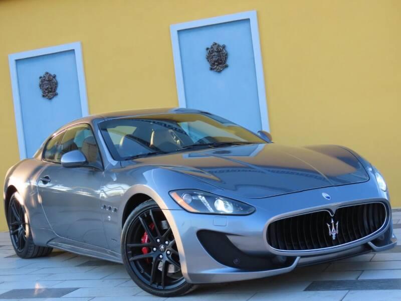 2017 Maserati GranTurismo for sale at Paradise Motor Sports LLC in Lexington KY