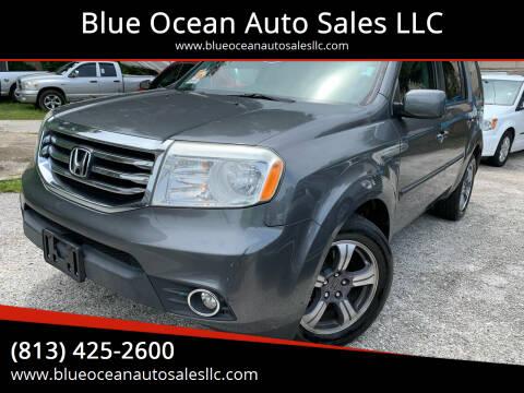 2013 Honda Pilot for sale at Blue Ocean Auto Sales LLC in Tampa FL