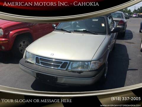1997 Saab 900 for sale at American Motors Inc. - Cahokia in Cahokia IL