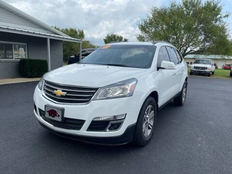 2017 Chevrolet Traverse for sale at Jacks Auto Sales in Mountain Home AR