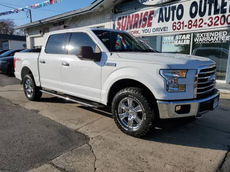 2017 Ford F-150 for sale at Sunrise Auto Outlet in Amityville NY