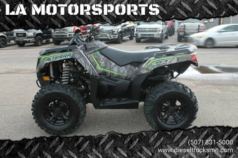 2017 Arctic Cat ALTERRA for sale at LA MOTORSPORTS in Windom MN