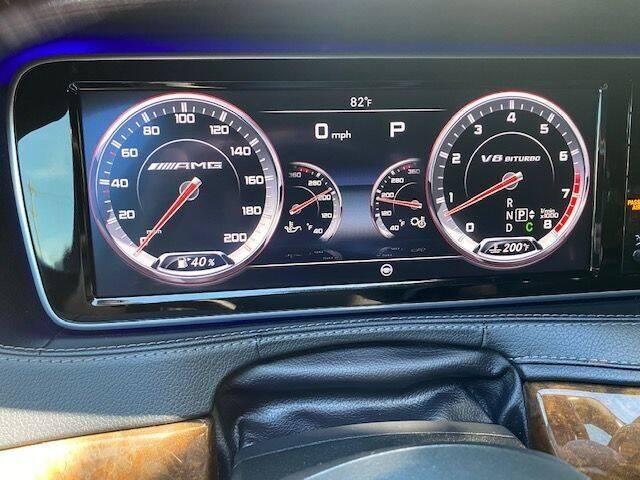 2015 Mercedes-Benz S-Class AWD S 63 AMG 4MATIC 4dr Sedan - Philladelphia PA