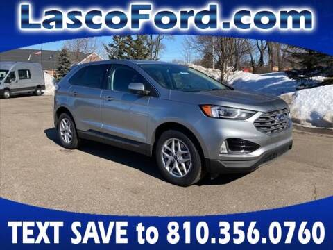 2021 Ford Edge for sale at LASCO FORD in Fenton MI