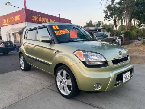 2011 Kia Soul for sale at 3K Auto in Escondido CA