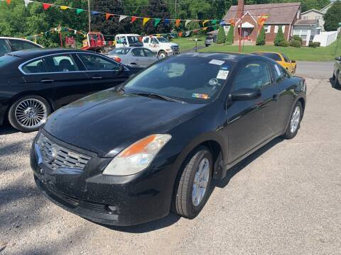 2008 Nissan Altima for sale at Trocci's Auto Sales in West Pittsburg PA