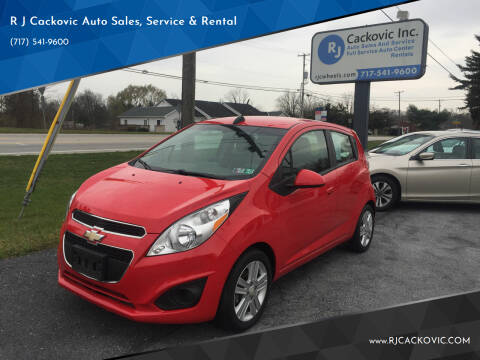 2015 Chevrolet Spark for sale at R J Cackovic Auto Sales, Service & Rental in Harrisburg PA