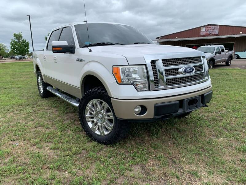 2010 Ford F-150 for sale at MATTHEWS AUTO SALES in Elk River MN