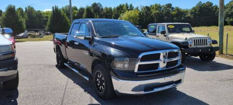 2009 Dodge Ram Pickup 1500 for sale at Kelly & Kelly Supermarket of Cars in Fayetteville NC