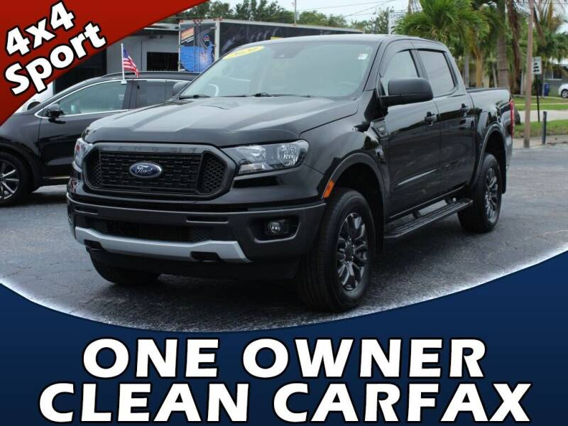 2020 Ford Ranger for sale at Palm Beach Auto Wholesale in Lake Park FL