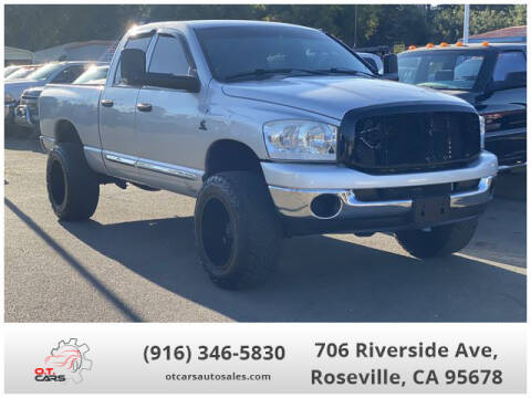 2007 Dodge Ram Pickup 3500 for sale at OT CARS AUTO SALES in Roseville CA