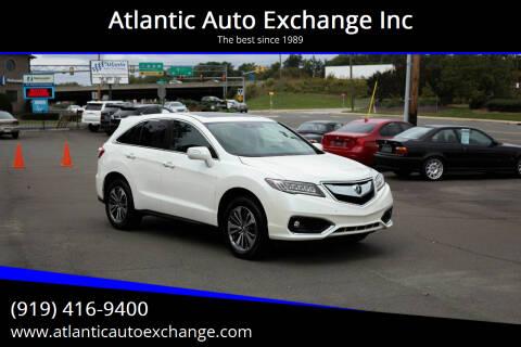 2017 Acura RDX for sale at Atlantic Auto Exchange Inc in Durham NC