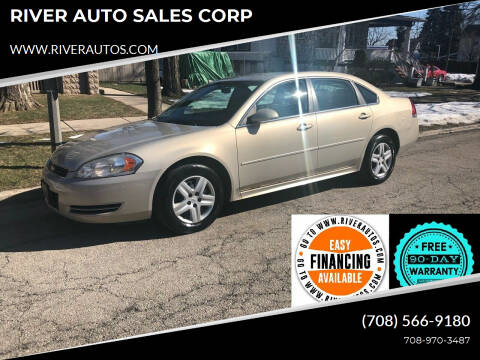2011 Chevrolet Impala for sale at RIVER AUTO SALES CORP in Maywood IL