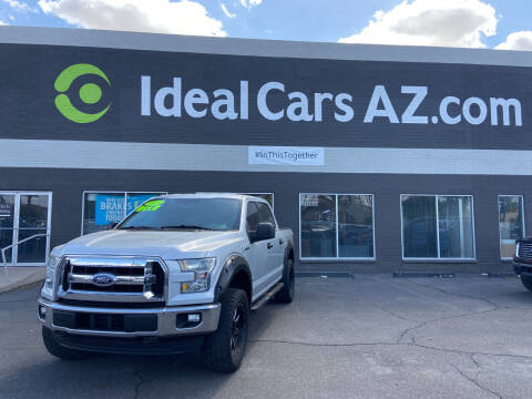 2015 Ford F-150 for sale at Ideal Cars in Mesa AZ
