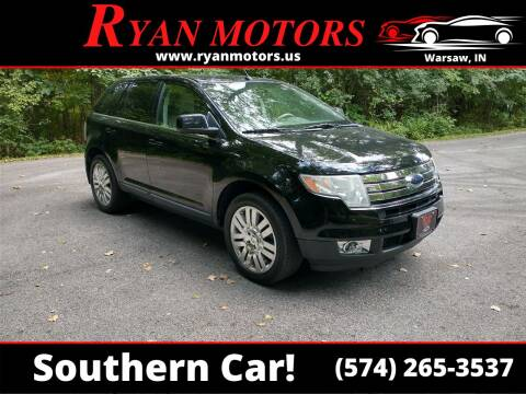 2008 Ford Edge for sale at Ryan Motors LLC in Warsaw IN