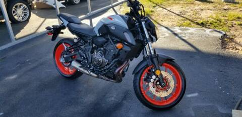 2019 Yamaha MT-07 for sale at Elite Auto Brokers in Lenoir NC
