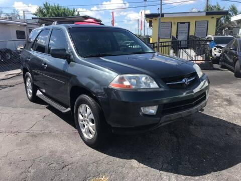 2003 Acura MDX for sale at MIAMI AUTO LIQUIDATORS in Miami FL