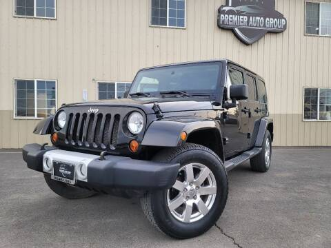 2011 Jeep Wrangler Unlimited for sale at Premier Auto Group in Union Gap WA