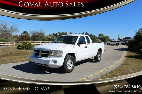 2011 RAM Dakota for sale at Goval Auto Sales in Pompano Beach FL