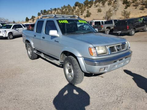 2000 Nissan Frontier for sale at Canyon View Auto Sales in Cedar City UT