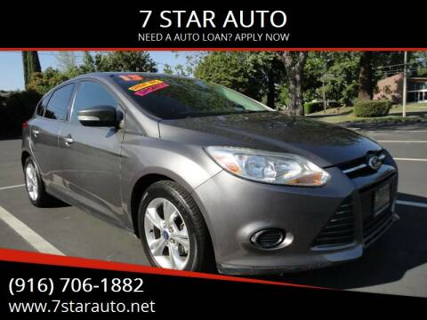 2013 Ford Focus for sale at 7 STAR AUTO in Sacramento CA