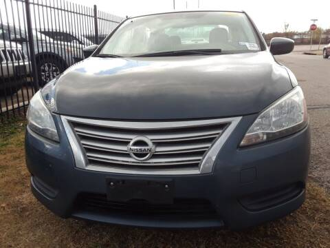 2013 Nissan Sentra for sale at Auto Haus Imports in Grand Prairie TX