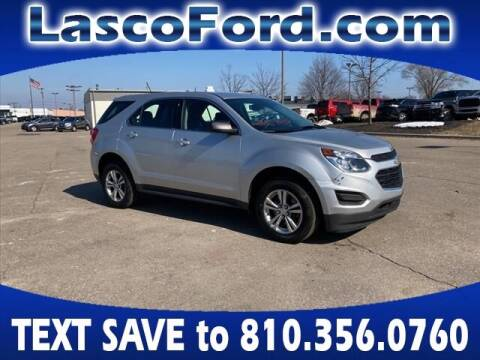 2017 Chevrolet Equinox for sale at Lasco of Grand Blanc in Grand Blanc MI