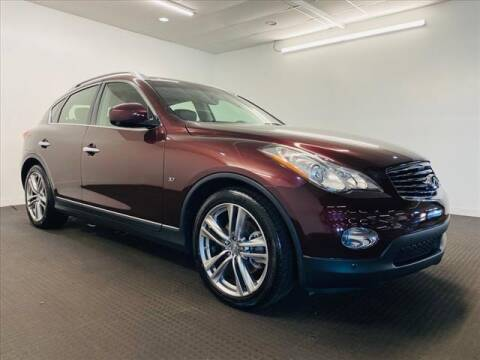 2015 Infiniti QX50 for sale at Champagne Motor Car Company in Willimantic CT