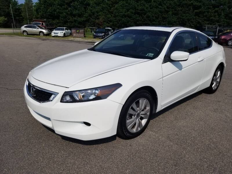 2010 Honda Accord for sale at Pinnacle Acceptance Corp. in Franklinton NC
