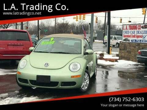 2009 Volkswagen New Beetle for sale at L.A. Trading Co. in Woodhaven MI