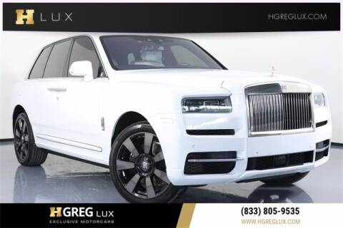 2020 Rolls-Royce Cullinan for sale at HGREG LUX EXCLUSIVE MOTORCARS in Pompano Beach FL