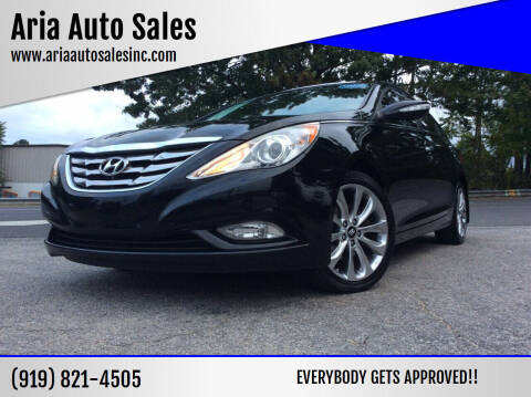 2011 Hyundai Sonata for sale at ARIA  AUTO  SALES in Raleigh NC
