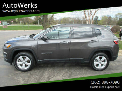 2018 Jeep Compass for sale at AutoWerks in Sturtevant WI
