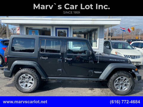 2014 Jeep Wrangler Unlimited for sale at Marv`s Car Lot Inc. in Zeeland MI