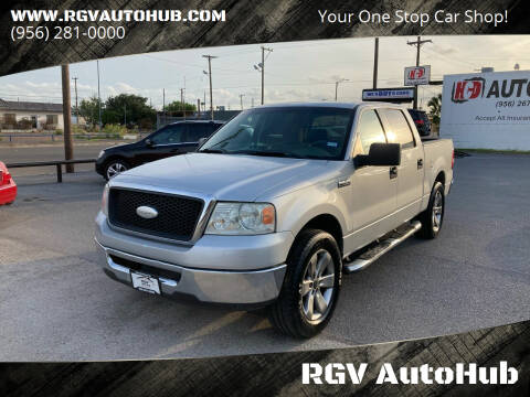 2008 Ford F-150 for sale at RGV AutoHub in Harlingen TX