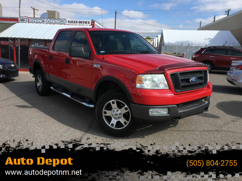 2005 Ford F-150 for sale at Auto Depot in Albuquerque NM
