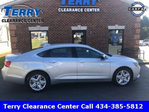 2017 Chevrolet Impala for sale at Terry Clearance Center in Lynchburg VA