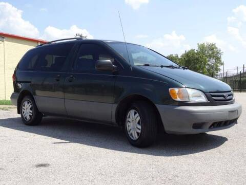 2002 Toyota Sienna for sale at 123 Car 2 Go LLC in Dallas TX